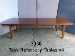 UK-DK Danish Modern Furniture Wholesalers - Teak Dining Tables